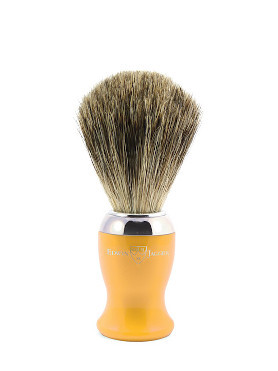 Edwin Jagger Pure Badger Brush with Chromed Rim small image