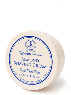 Taylor of Old Bond Street Almond Shaving Cream small image